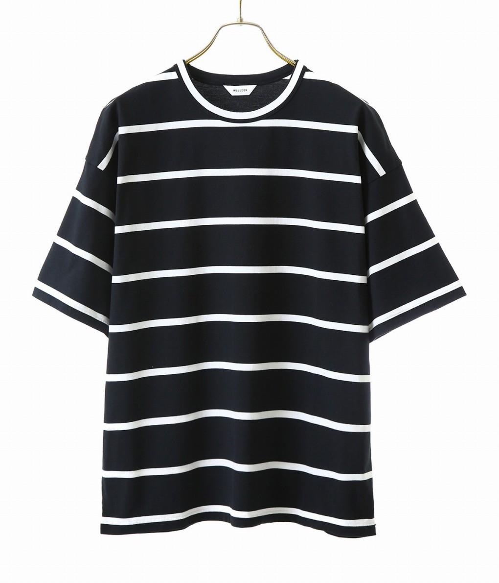 WELLDER / ウェルダー : Wide Fit T-Shirts / 全2色 : ウェルダー レギュラーフィット Tシャツ メンズ : WM19SCS09 【NOA】【BJB】
