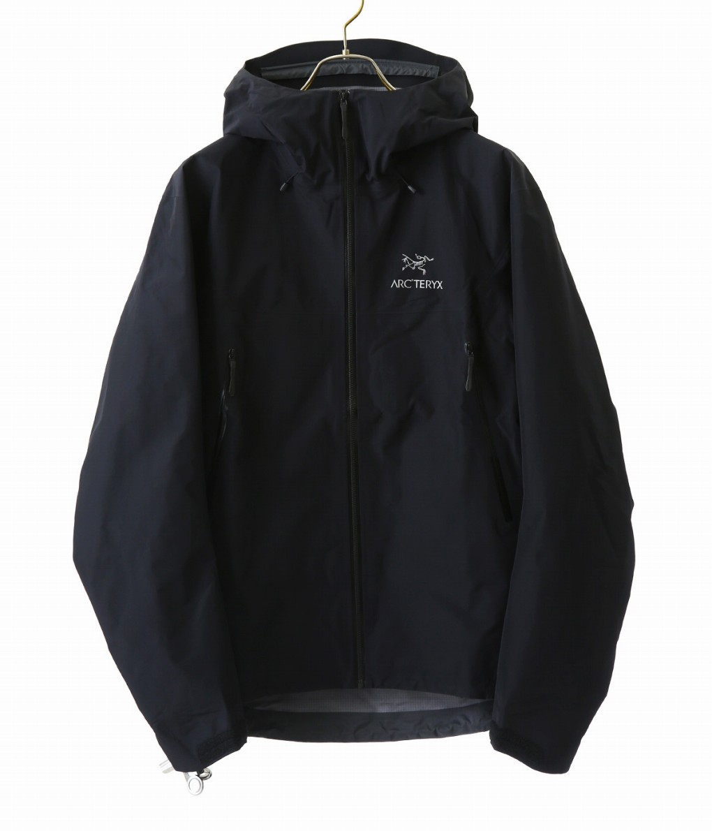 【国内正規品】ARC'TERYX / アークテリクス : 【メンズ】Beta LT Jacket Men's (TRIM FIT) -Black- (S~XLサイズ) : ジャケット ベータlt メンズ トリムフィット アウター ブルゾン 軽量 耐久 耐水性 : L06918100 【STD】