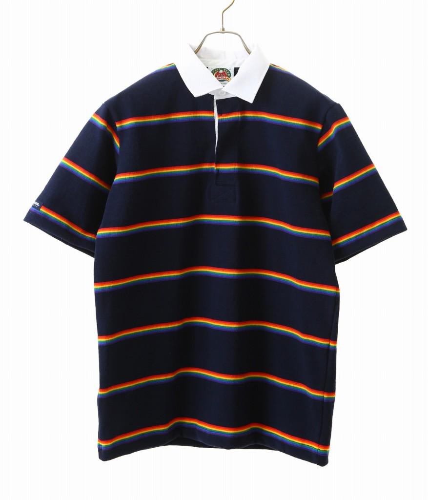 BARBARIAN / バーバリアン : BSS S/S RSE : TEE ラグビーシャツ ラガーシャツ ポロシャツ ショートスリーブ メンズ : RSE-04 【STD】