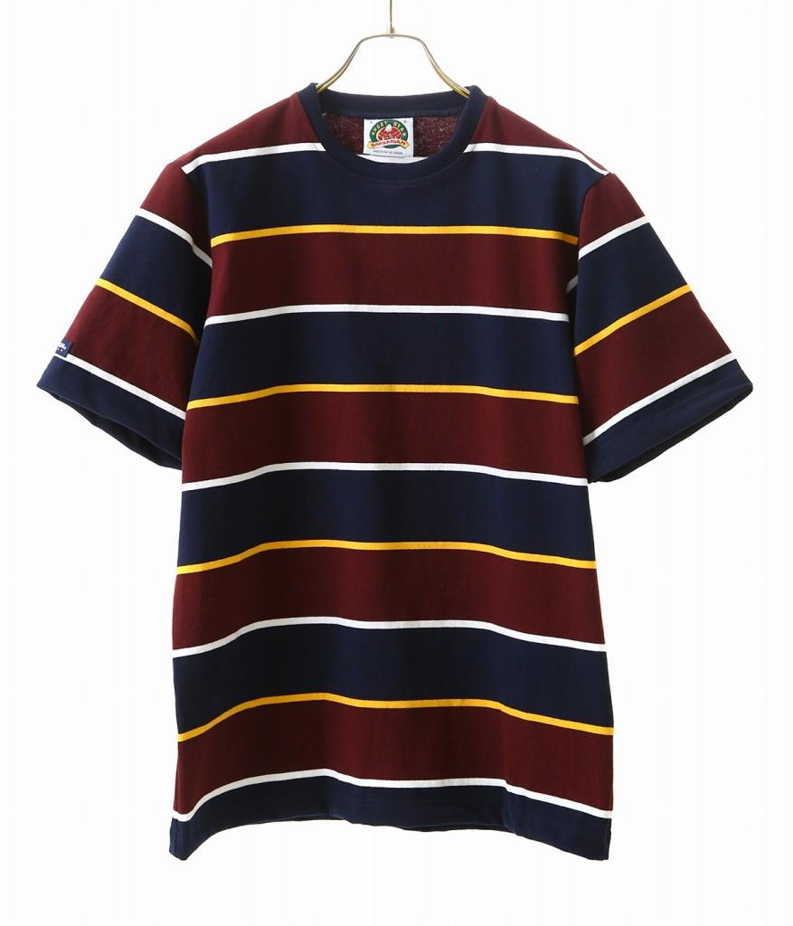 BARBARIAN / バーバリアン : GCNBNC S/S RSE : ティーシャツ 半袖 カットソー メンズ ショートスリーブ : 1534803-RSE-16 【STD】【REA】