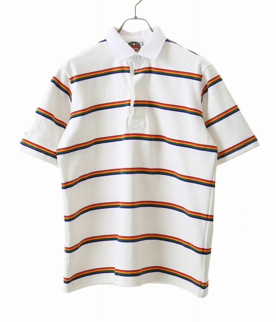 BARBARIAN / バーバリアン : BSS S/S RSE : TEE ラグビーシャツ ラガーシャツ ポロシャツ ショートスリーブ メンズ : RSE-03 【STD】