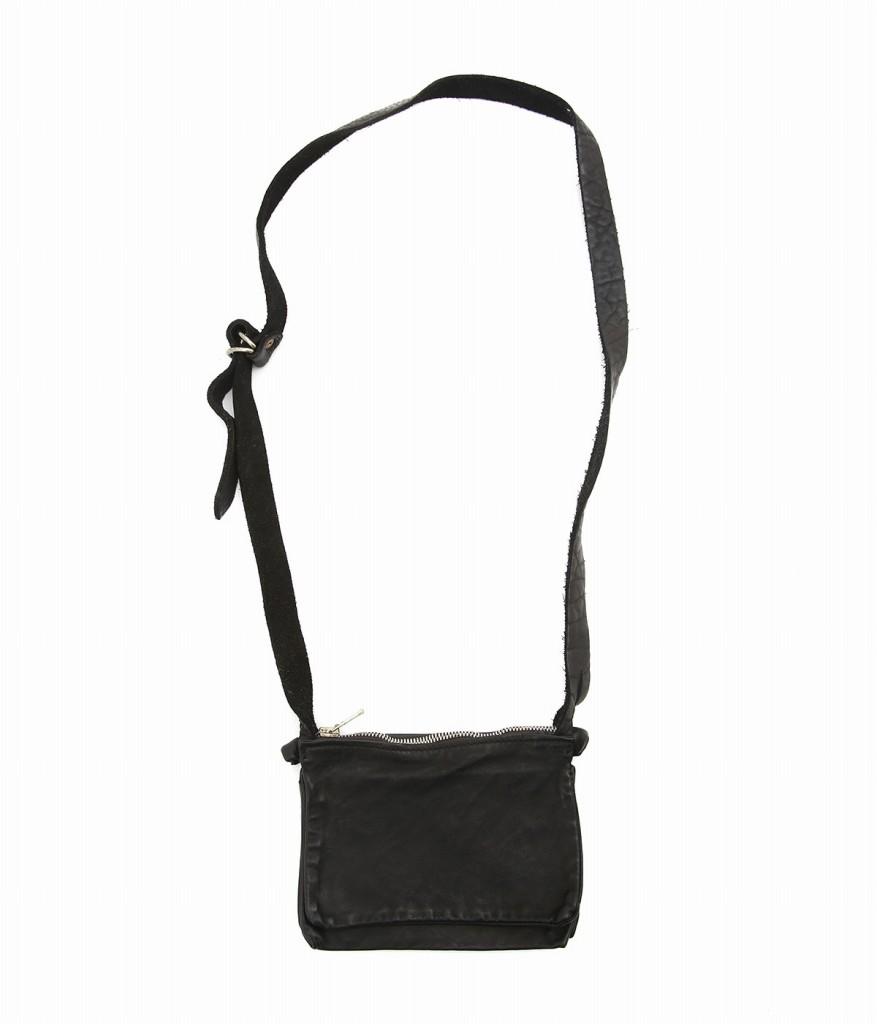GUIDI / グイディ : POCKET BAG : グイディ ポケット バッグ ショルダーバッグ メンズ レディース : PKT05-KANGAROO 【RIP】
