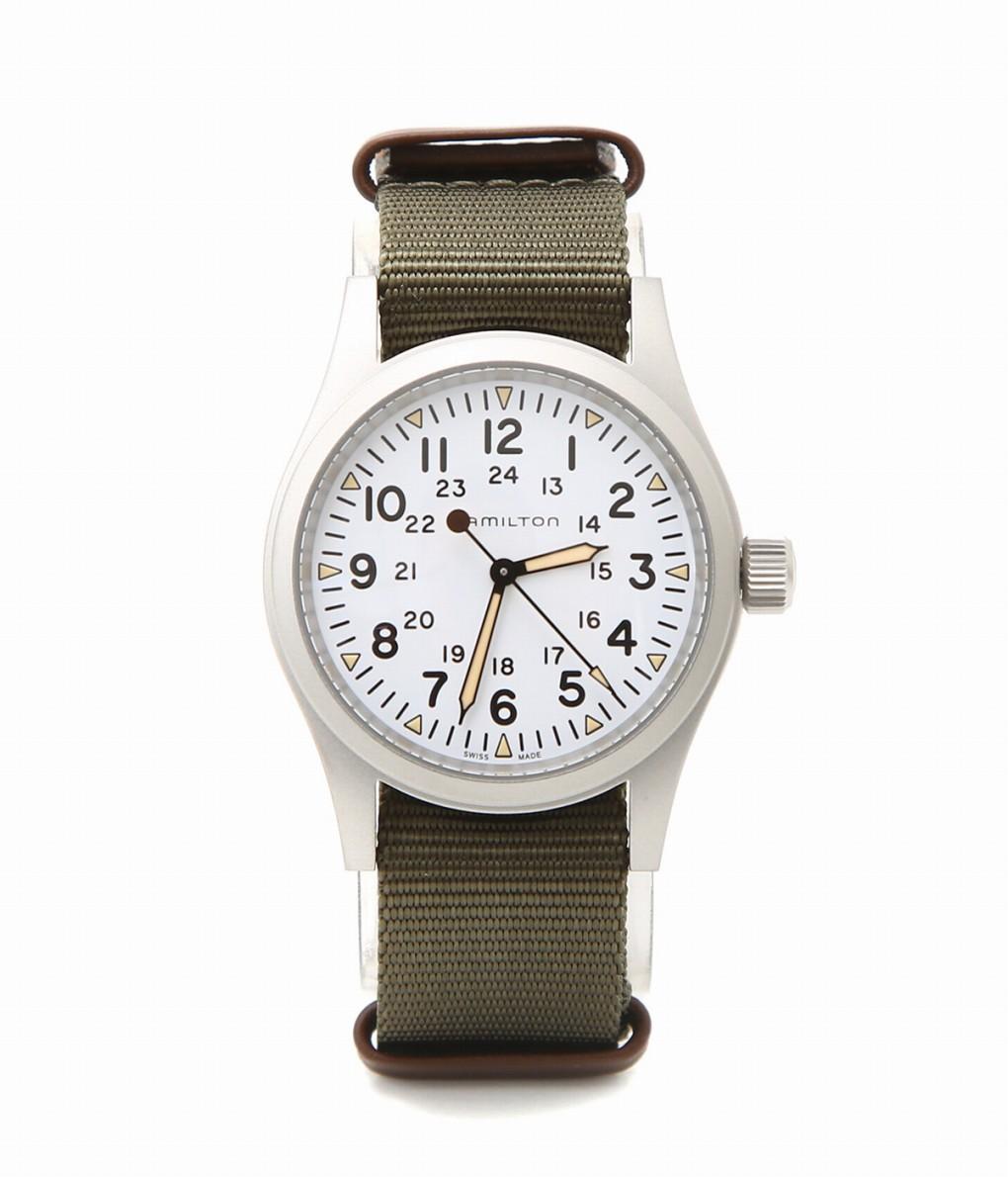 HAMILTON / ハミルトン : カーキ フィールド メカ : カーキ フィールド メカ ハミルトン 腕時計 時計 メンズ : H69439411 【MUS】