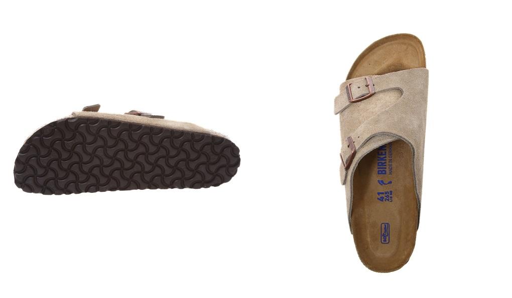 BIRKENSTOCK ビルケンシュトック: Zurich SFB (narrow fitting): Building Ken sandals BIRKEN Zurich suede cloth men gap Dis: GC1009533