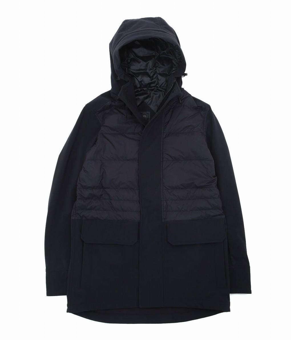 CANADA GOOSE / カナダグース : BRETON COAT BLACK LABEL : ジャケット アウター メンズ コート ブラックレーベル メンズ : 2215MB 【STD】