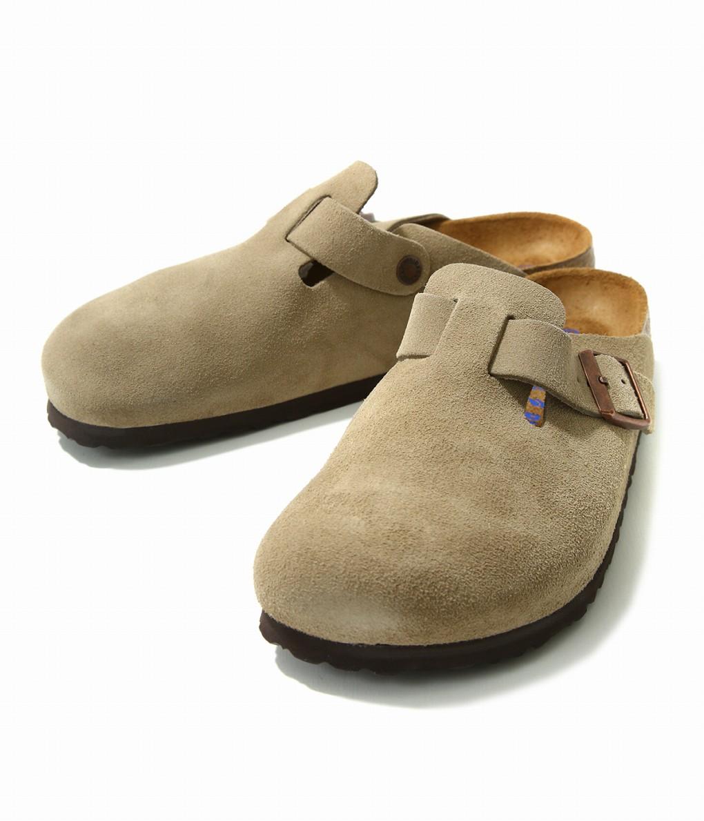 BIRKENSTOCK / ビルケンシュトック : Boston SFB (ナローフィット) : ビルケン サンダル leather-fair-shoes BIRKEN ボストン メンズ : 560773 【STD】