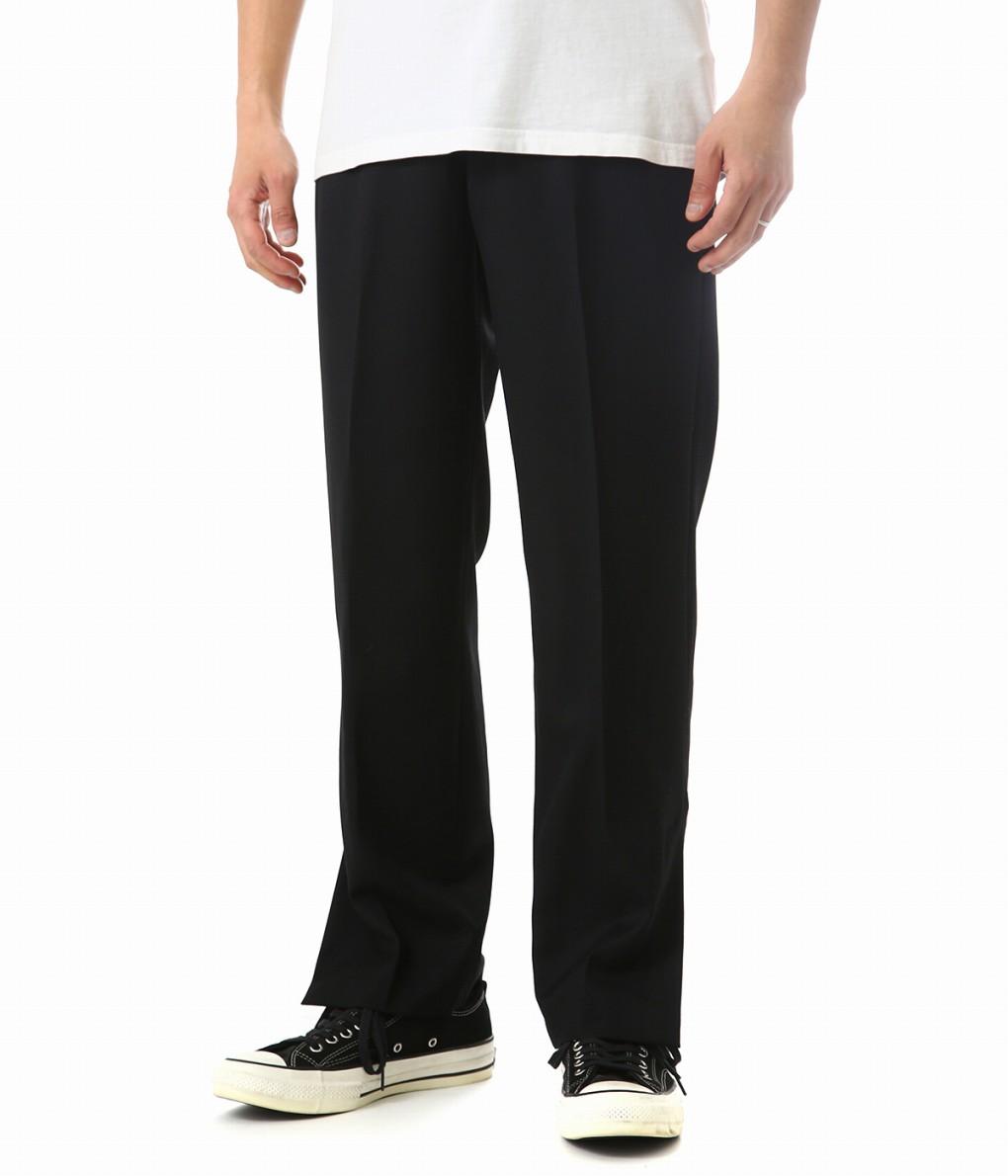 UNUSED / アンユーズド : side slit slacks : スラックス パンツ メンズ : UW0729 【NOA】