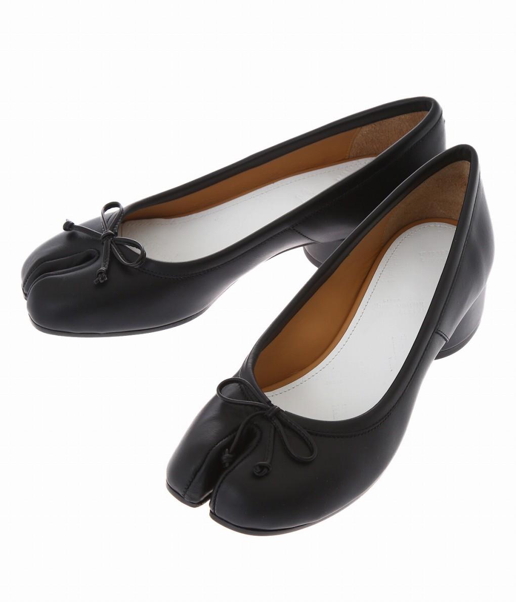 Maison Margiela / メゾン マルジェラ : 【レディース】TABI BALLET SHOES-3cm Heel- : メゾン マルジェラ タビ バレット シューズ 3センチ ヒール レディース : S58WZ0044-T8013【ANN】