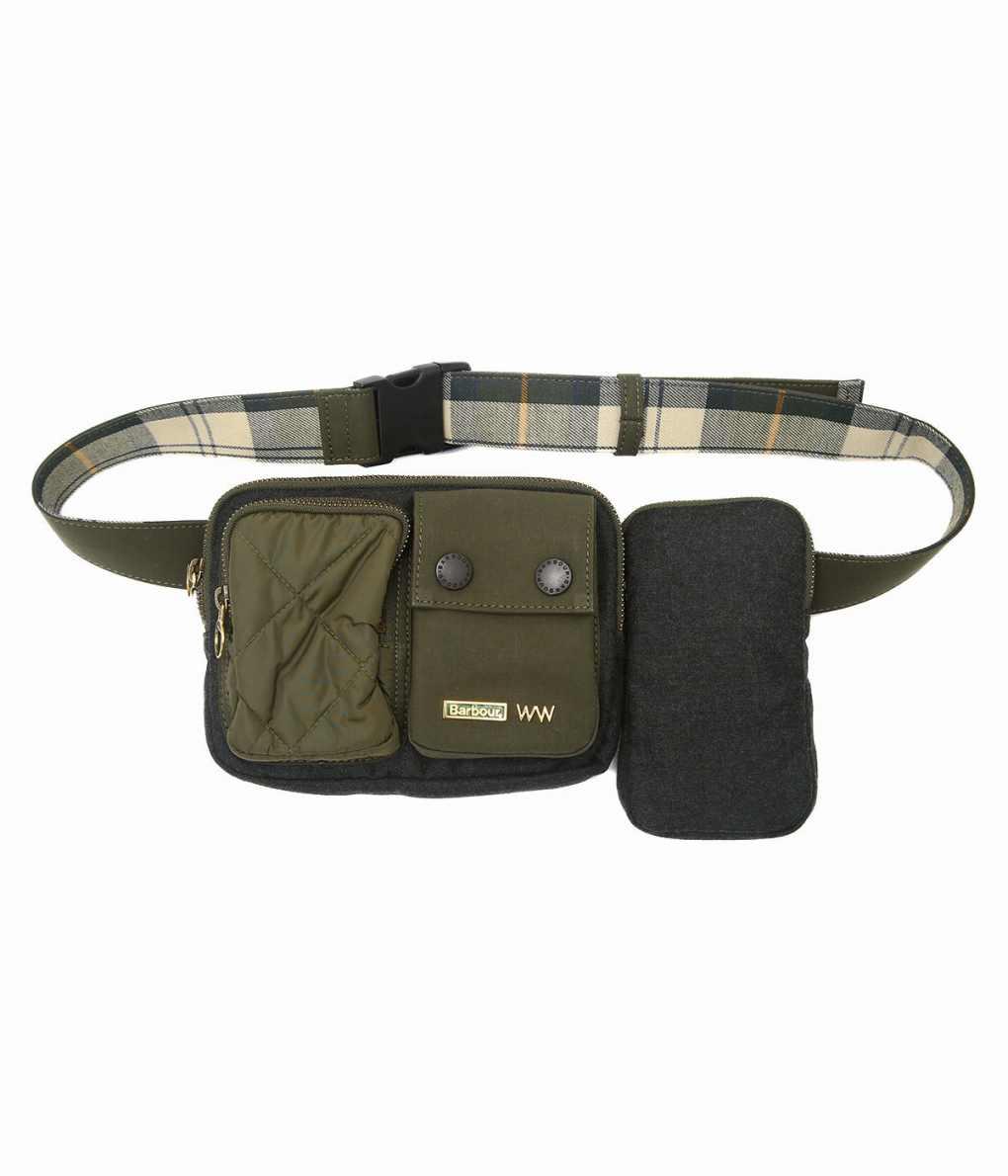 WACCOWACCO / ワッコワッコ : Belt bag : ウエストバッグ ボディーバッグ メンズ : WWBB-013 【MUS】