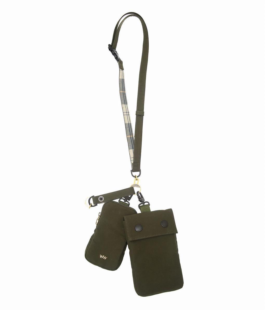 【サマーキャンペーン!】WACCOWACCO / ワッコワッコ : Neck Strap & Keychain bag : ネックストラップ キーチェーン ポーチ サコッシュ メンズ : WWBB-019 【MUS】
