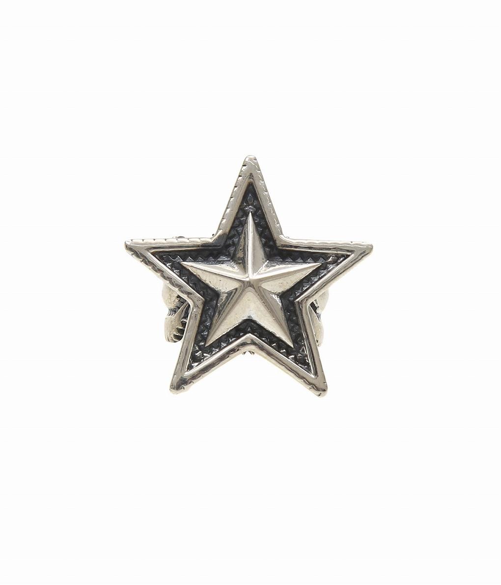 CODY SANDERSON / コディ サンダーソン : Medium Star Ring-リング- : ミディアムスター リング 指輪 アクセサリー : C2-01-007 【RIP】