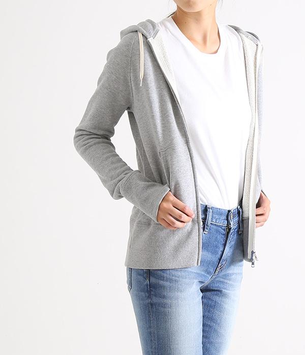 Traditional Weather Wear / トラディショナルウェザーウェア : SWEAT PARKA-GREY- : スウェットパーカー ジップパーカー フード : L182HJCD0001B-SW01【ANN】