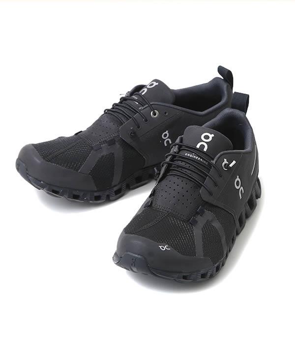 On / オン : Cloud Waterproof -Black/Lunar - : クラウド ウォータープルーフ シューズ 靴 : 1999987 【AST】