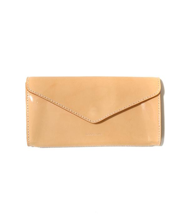 Hender Scheme / エンダースキーマ : long wallet -patent natural- : ロングウォレット 財布 長財布 レザー メンズ : fl-rc-lwl【RIP】