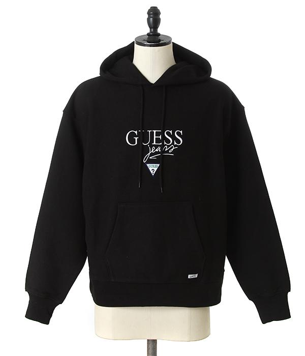 GUESS GREEN LABEL / ゲス グリーン レーベル : Guess Jeans USA Hoody : ゲス ジーンズ ユーエスエー フーディー パーカ 18AW 18秋冬 メンズ : GRFW17-009 【WAX】