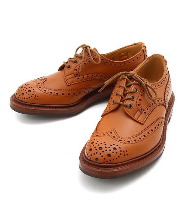 Tricker`s / トリッカーズ : WING TIP SHOES RIDGEWAY SOLE -C SHADE- : トリッカーズ ブーツ 短靴 ウィングチップ レザーシューズ 本革 秋冬 メンズ : 5633-CSHADE 【MUS】