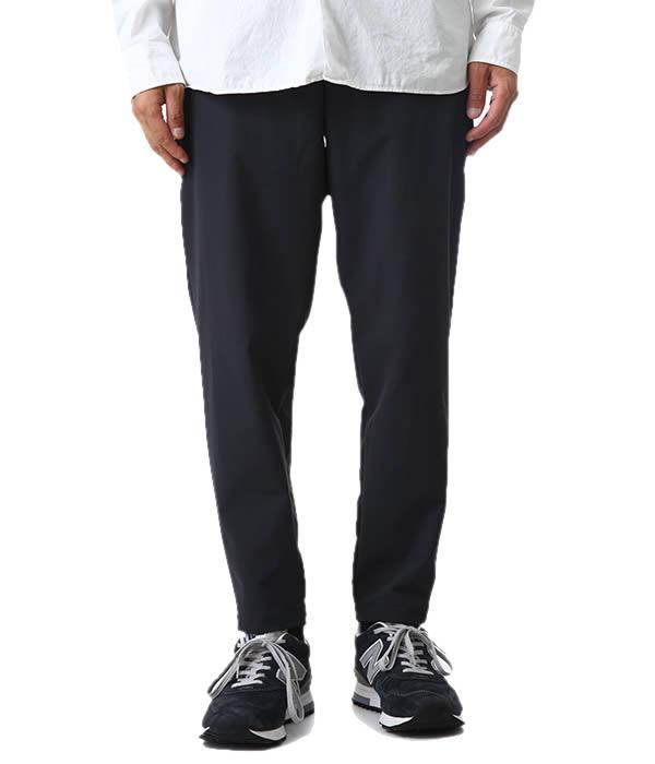 alk phenix / アルクフェニックス : crank ankle pants/tech-urake : クランク アンクル パンツ 裏毛 ウラケ アンクルパンツ メンズ : PO812PA02 【PIE】