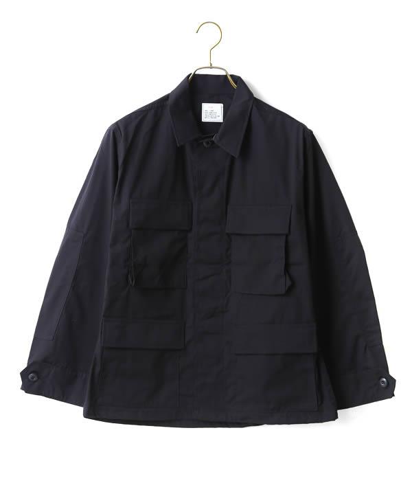 VINTAGE / ヴィンテージ : 【DEAD STOCK】BDU BLACK 357 SHIRT JACKET(S-X SHORT) : ミリタリー ミリタリージャケット デッドストック メンズ : ALG-1708-JK03 【VIN】