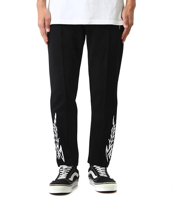 RHUDE / ルード : Pin Stripe Pants 3 : ピン ストライプ パンツ 18AW 18秋冬 メンズ : 01APP01501【WAX】