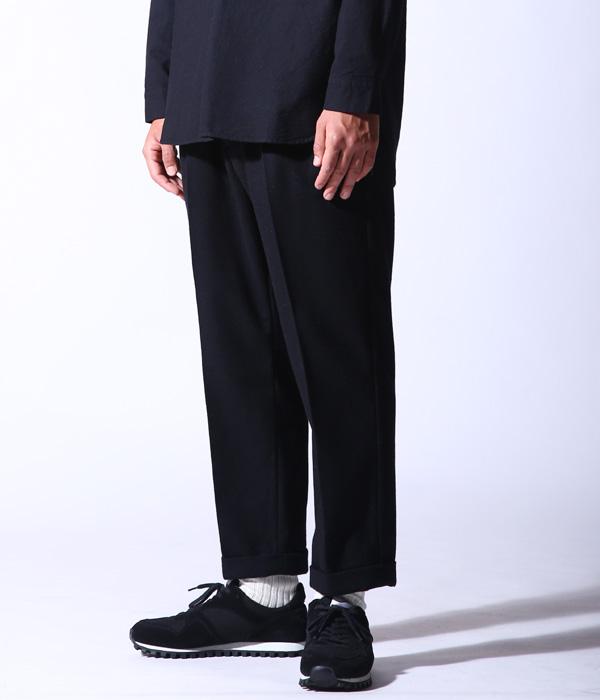 GOLD 東洋エンタープライズ / ゴールド : WOOL FLANNEL SLIM 2TUCK PANTS : ウール フランネル スリム 2 タック パンツ : GL41775 【MUS】【WIS】