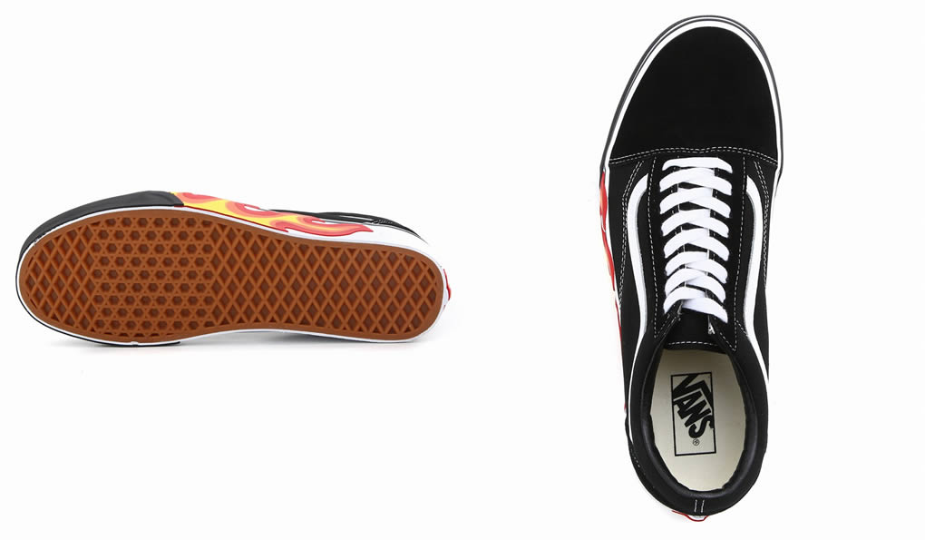 21edff4f9f VANS CLASSICS   vans classical music  UA OLD SKOOL -FLAME CUT OUT-  A  station wagons sneakers old school frame cutout  VN-0A38G1UJG