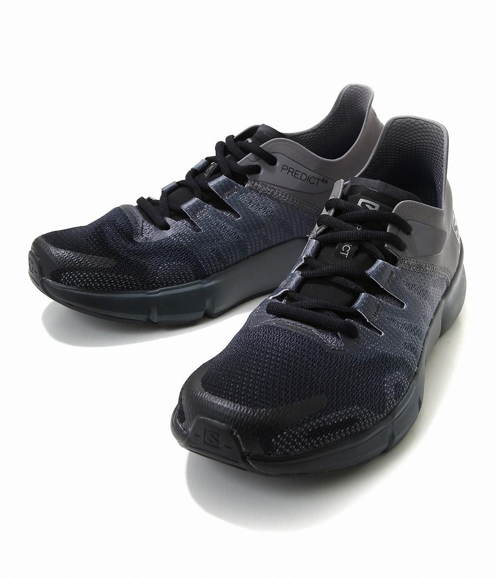 SALOMON / サロモン : PREDICT BLACK/QUIET SHADE/EBONY : プレディクト ブラック スニーカー 靴 シューズ : L40687400 【AST】【REA】