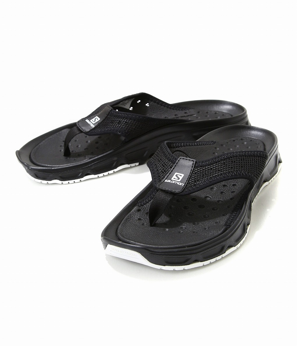 440248b25497 SALOMON   Salomon  RX BREAK 4.0 BLACK BLACK WHITE  Salomon RX break 4.0  black sandals shoes  L40744500
