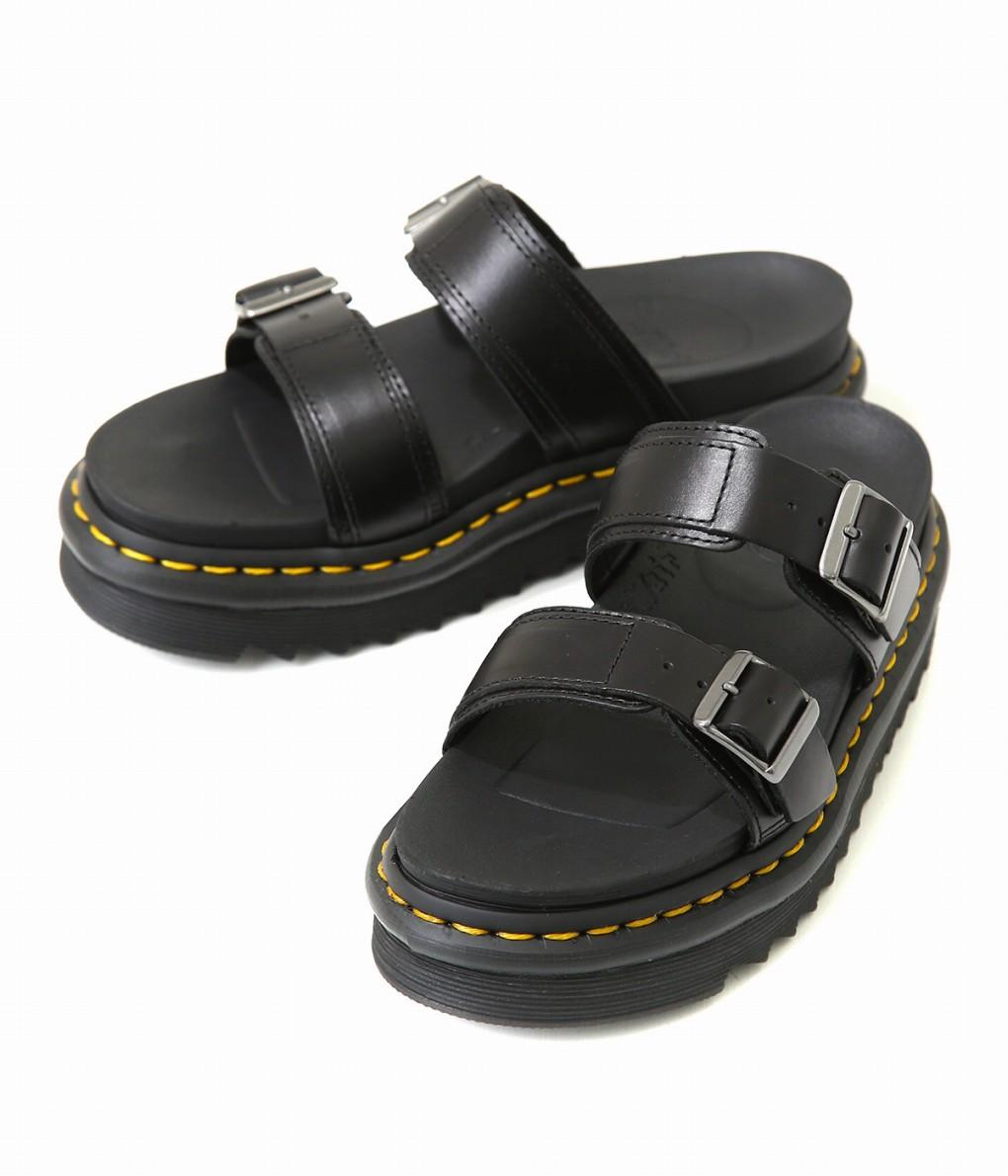 Dr.Martens / ドクターマーチン : MYLES :マイレス シューズ ドクターマーチン 靴 サンダル レディース : 23523001 【ANN】