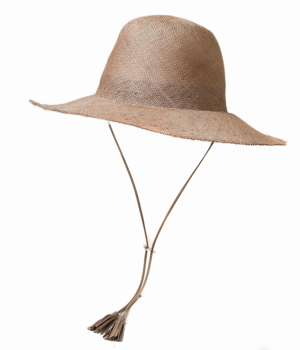 KIJIMA TAKAYUKI / キジマ タカユキ : 【レディース】WIDE BRIM HAT : ワイド ブリム ハット ウーマン レディース 帽子 : W-191253 【ANN】