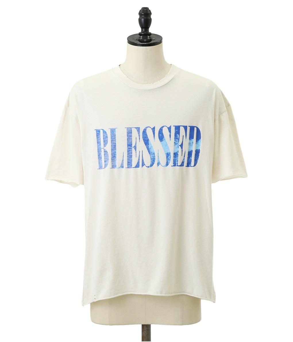 ALCHEMIST / アルケミスト : BLESSED TSHIRT : ブレスド ティーシャツ 19SS 19春夏 : AL-S19-0000-060 【WAX】