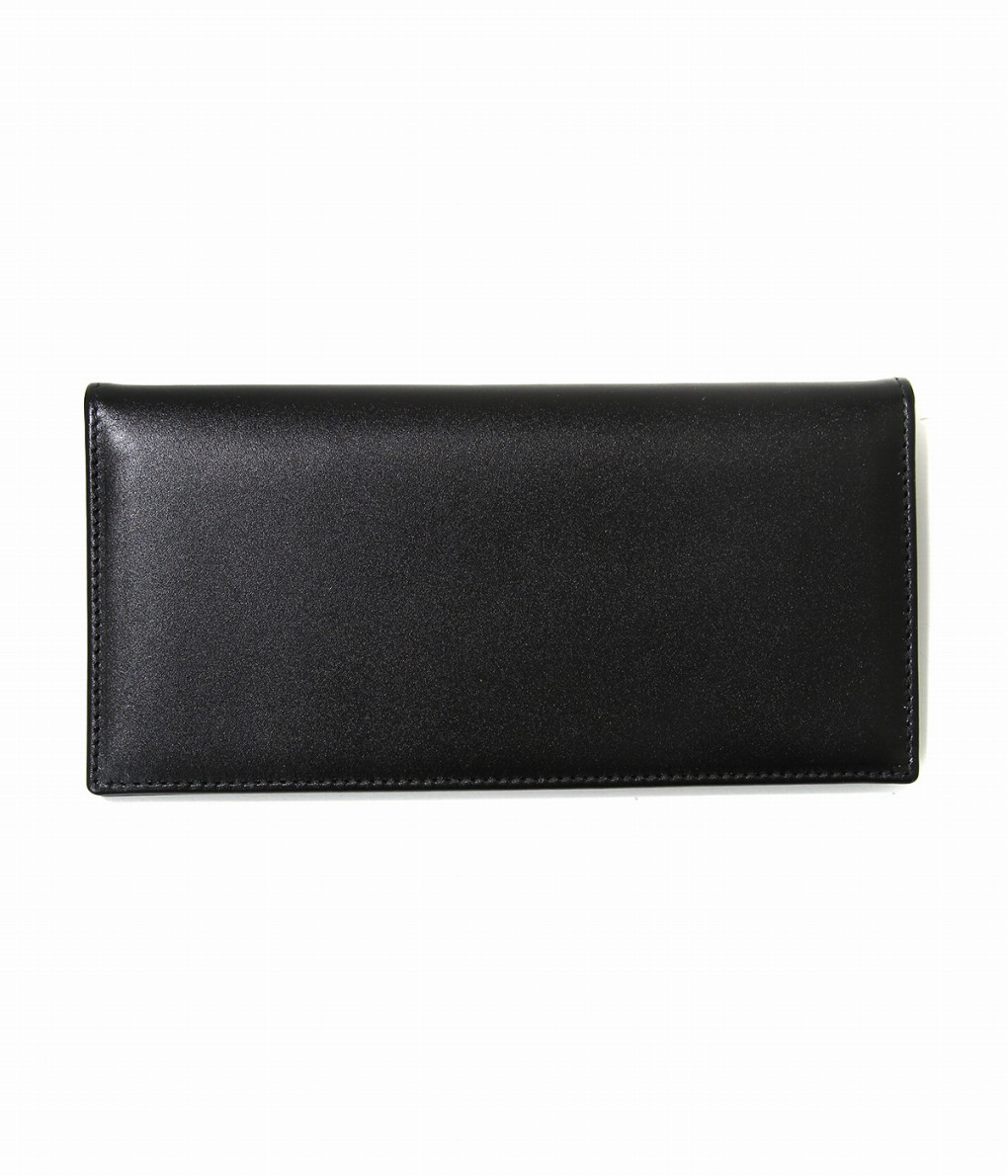 ETTINGER / エッティンガー : LONG WALLET WITH ZIP BLK/PPL : ロングウォレット 長財布 : ST953A 【MUS】
