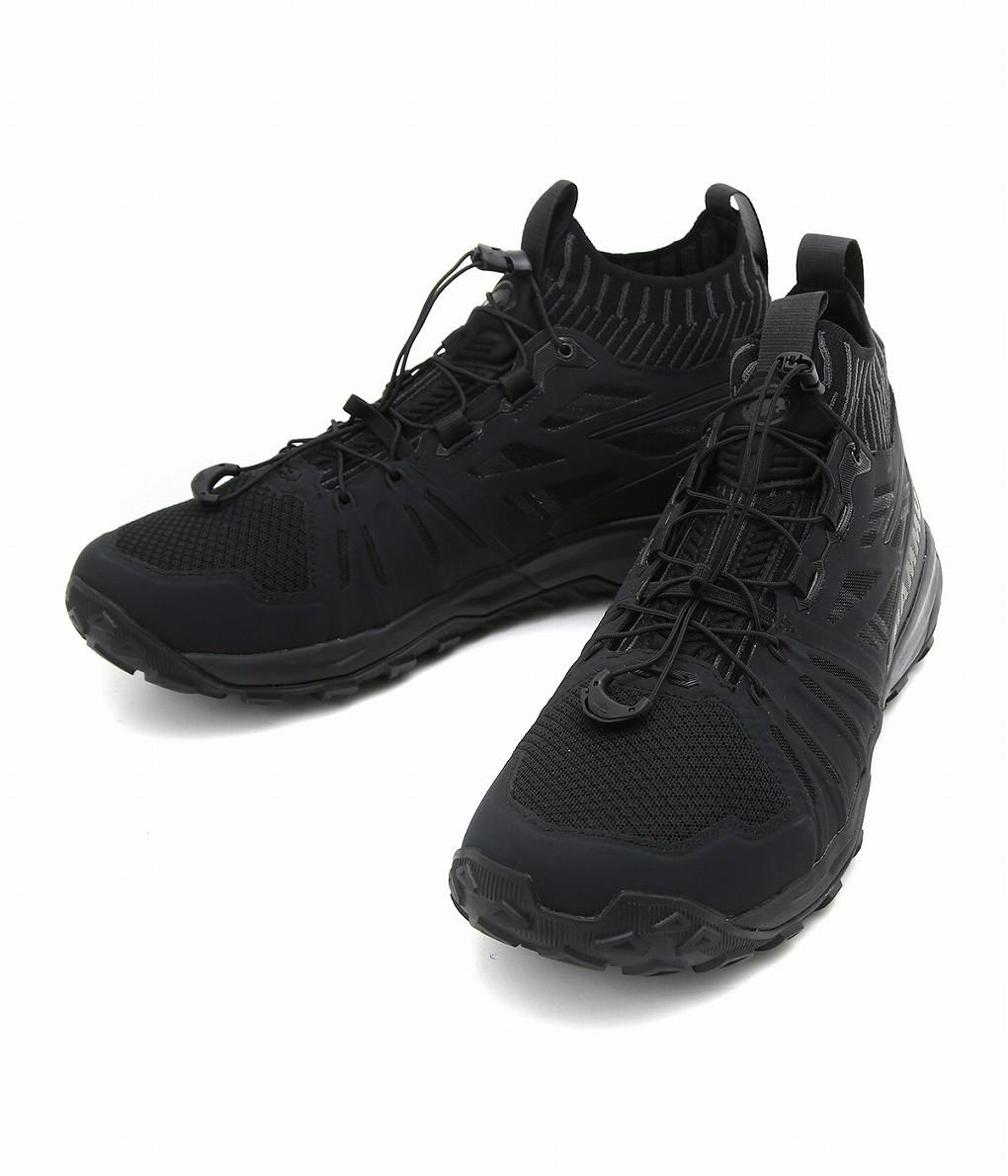 MAMMUT / マムート : Saentis Knit Low Men -black-phantom- : センティスニットロウメン スニーカー シューズ 靴 メンズ : 3030-03390 【AST】