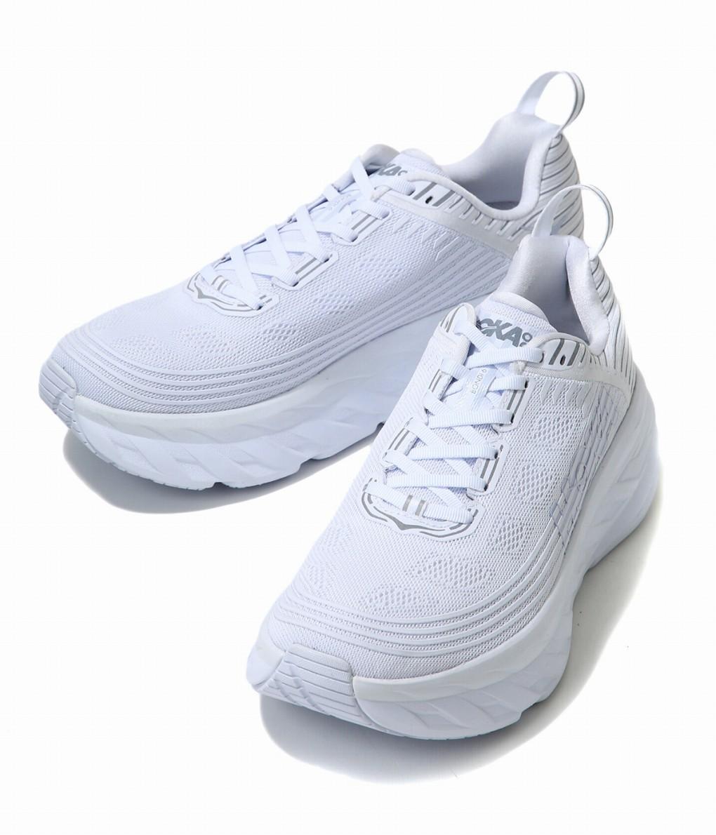HOKA ONE ONE / ホカオネオネ : BONDI 6 -White Reflective- : ボンダイ6 ランニング スポーツ : 1019269-WWRF 【PIE】【REA】