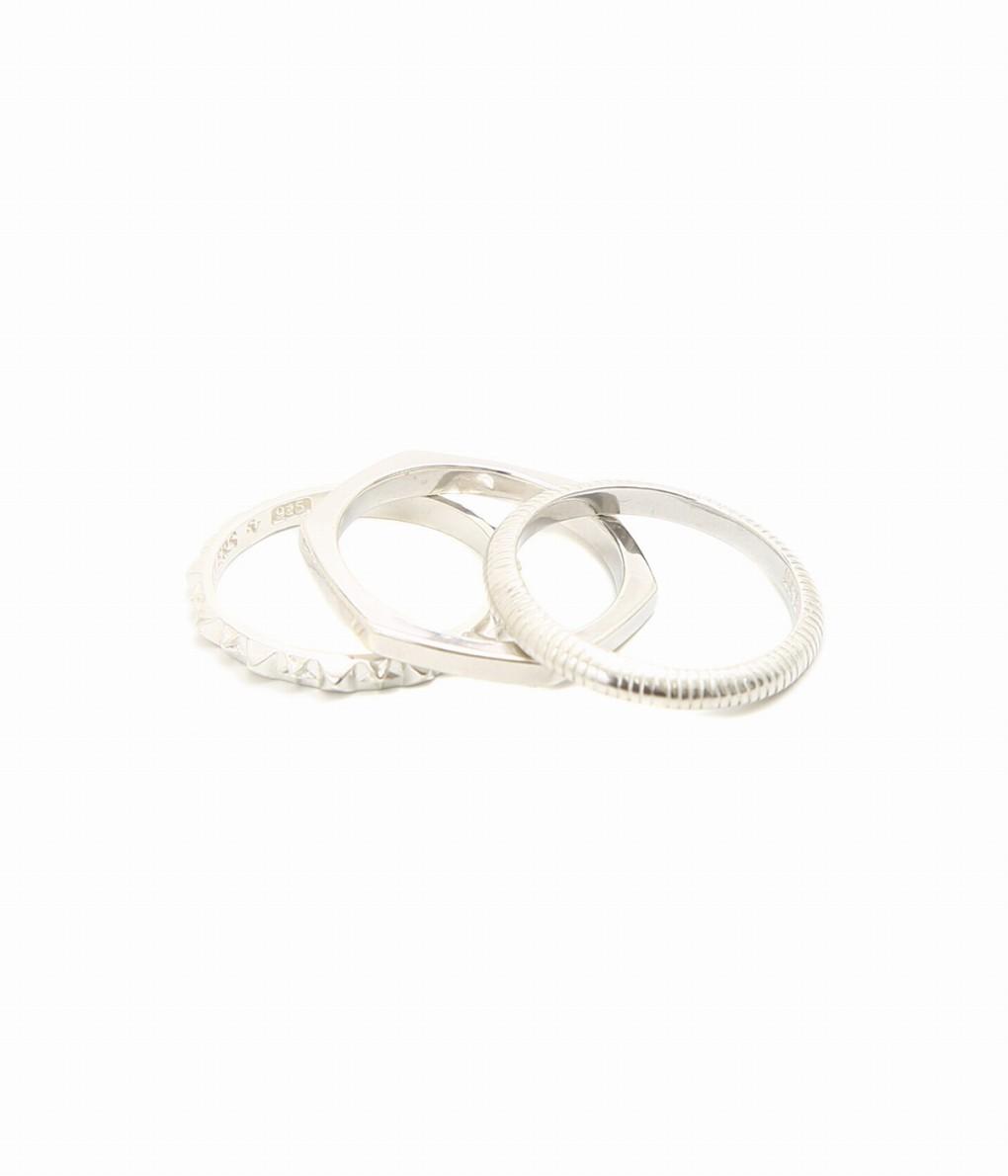 END / エンド : NOVEL JACOBIAN RING : ノーベル ヤコビアン リング 指輪 メンズ : ENDR086 【COR】