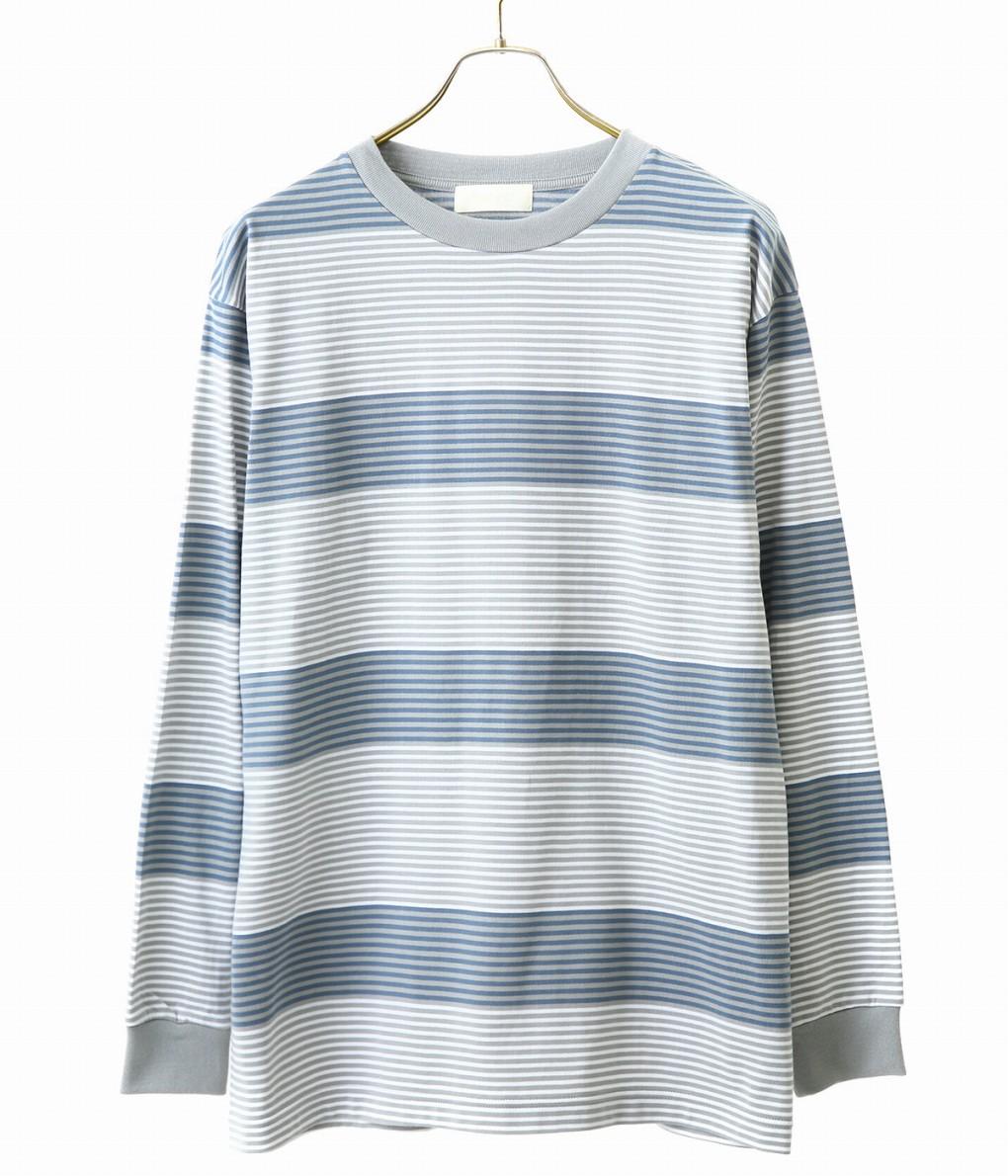 NEON SIGN / ネオンサイン : DADDY BORDER T-SHIRT LS : ネオンサイン ダディー ボーダー Tシャツ ティーシャツ ロンティー 長袖シャツ メンズ : NEON-1062【COR】