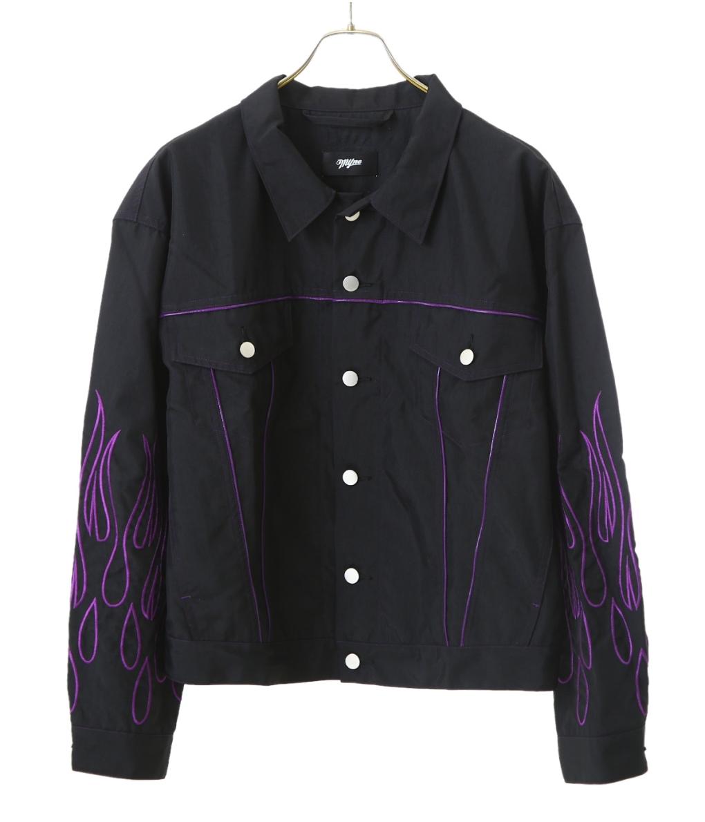 MYne / マイン : Fire Nylon Jacket : ファイヤー ナイロン ジャケット 19SS 19春夏 : G02JK231 【WAX】