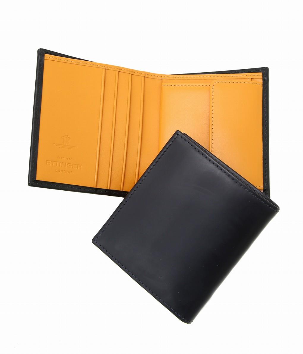 ETTINGER / エッティンガー : Mini Wallet +Coin Pocket Bridle : 財布 ミニウォレット レザー : BH975A 【MUS】