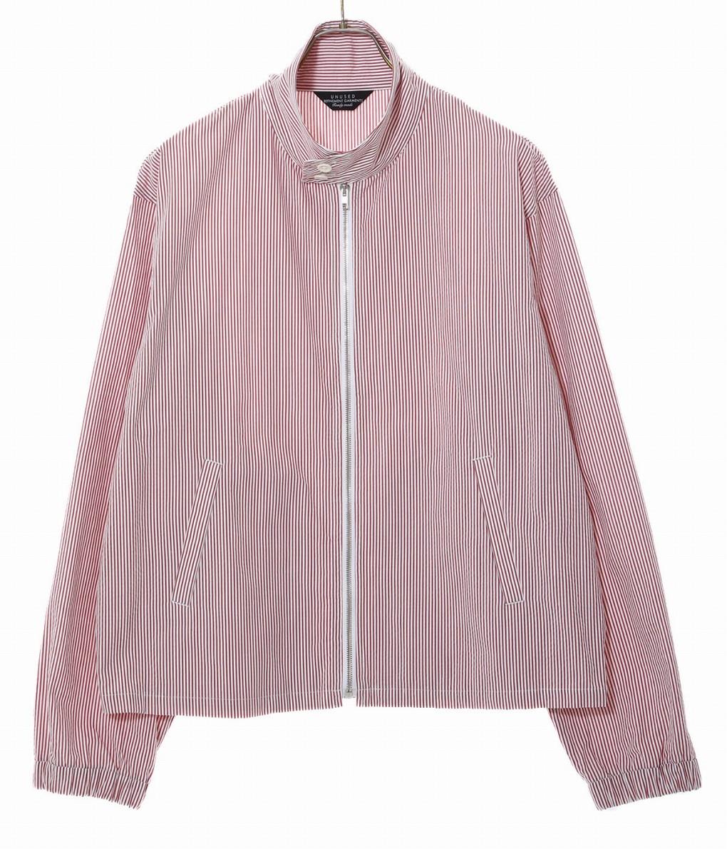 UNUSED / アンユーズド : Stripe cotton jacket : ストライプコットンジャケット ジャケット メンズ : US1564 【NOA】