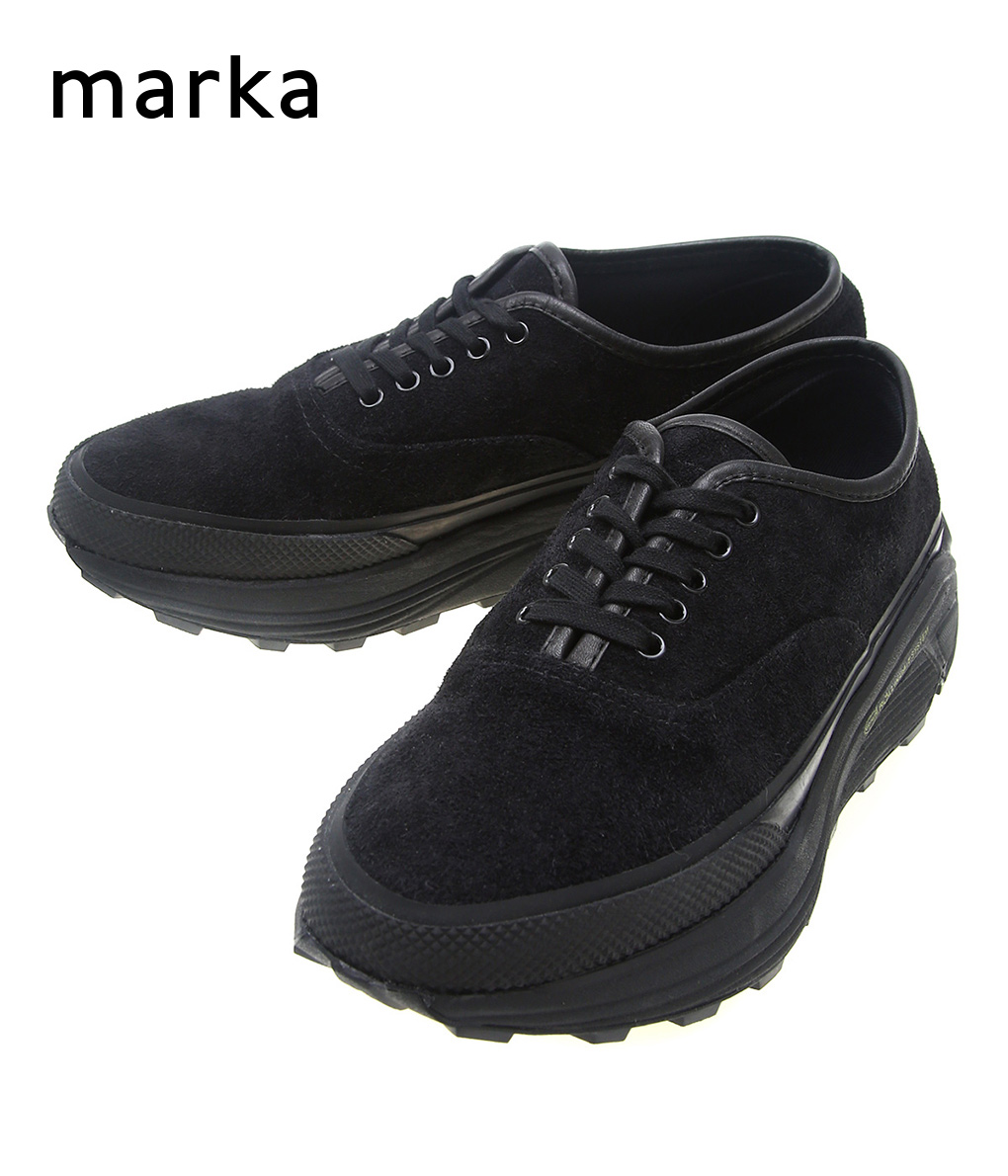 marka / マーカ : DOUBLE SOLE SNEAKERS DECK - cow hide - : マーカ 靴 ダブルソール スニーカー デック デッキシューズ メンズ : M19D-11BT01C【COR】【WIS】