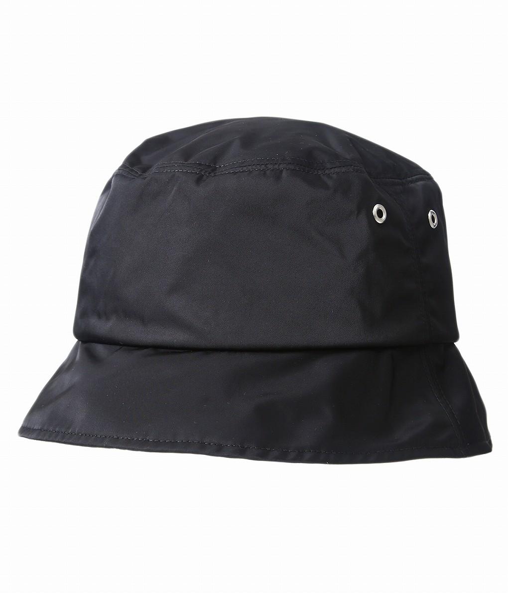 KIJIMA TAKAYUKI / キジマ タカユキ : Polyester Bucket Hat : ポリエステルバケットハット メンズ : 201002 【RIP】