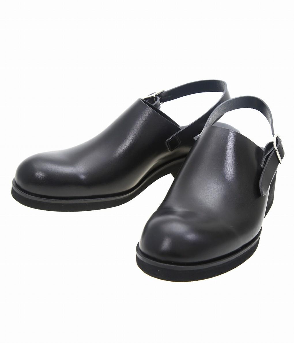 BEAUTIFUL SHOES / ビューティフルシューズ : SINGLEBELTCLOGS : スリッポンタイプ サンダル レザーシューズ ベルトストラップ 靴 レディース : BSS1912004 【ANN】