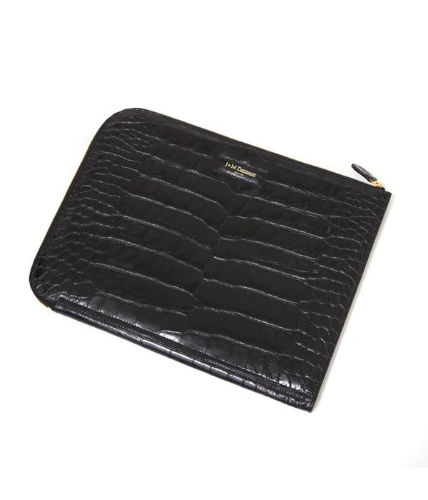 【アウトレットキャンペーン!】J&M DAVIDSON / ジェイアンドエムデヴィッドソン : MEDIUM DOCUMENT CASE(MOC) : 財布 ウォレット leather-fair-bag fathersday : 10058-M 【MUS】