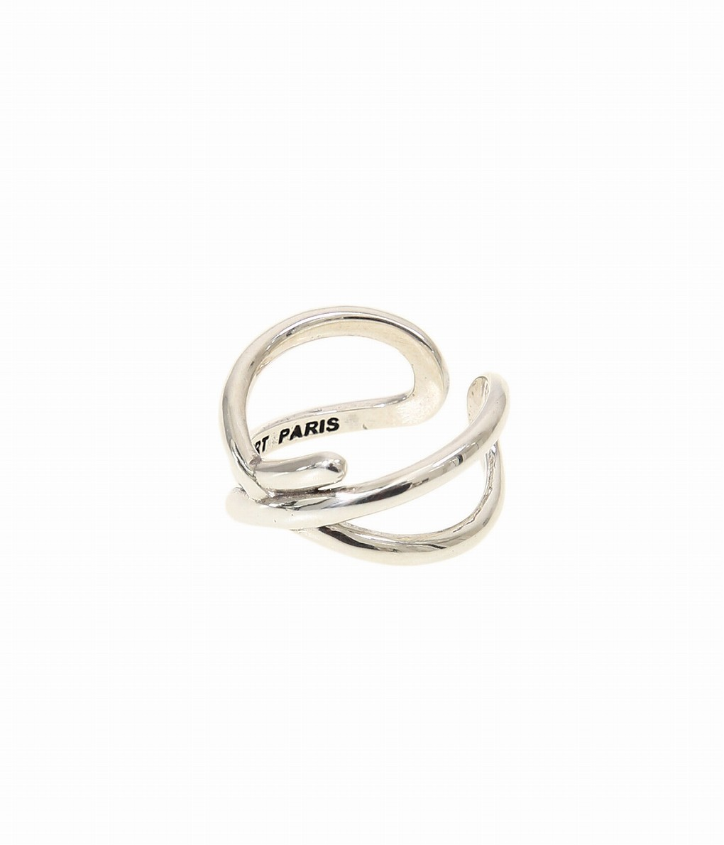 【送料無料】【期間限定ポイント10倍!】PHILIPPE AUDIBERT / フィリップオーディベール : Hany ringbrass(brass silver color) : フィリップオーディベール リング ブラス レディース : BG4574【ANN】