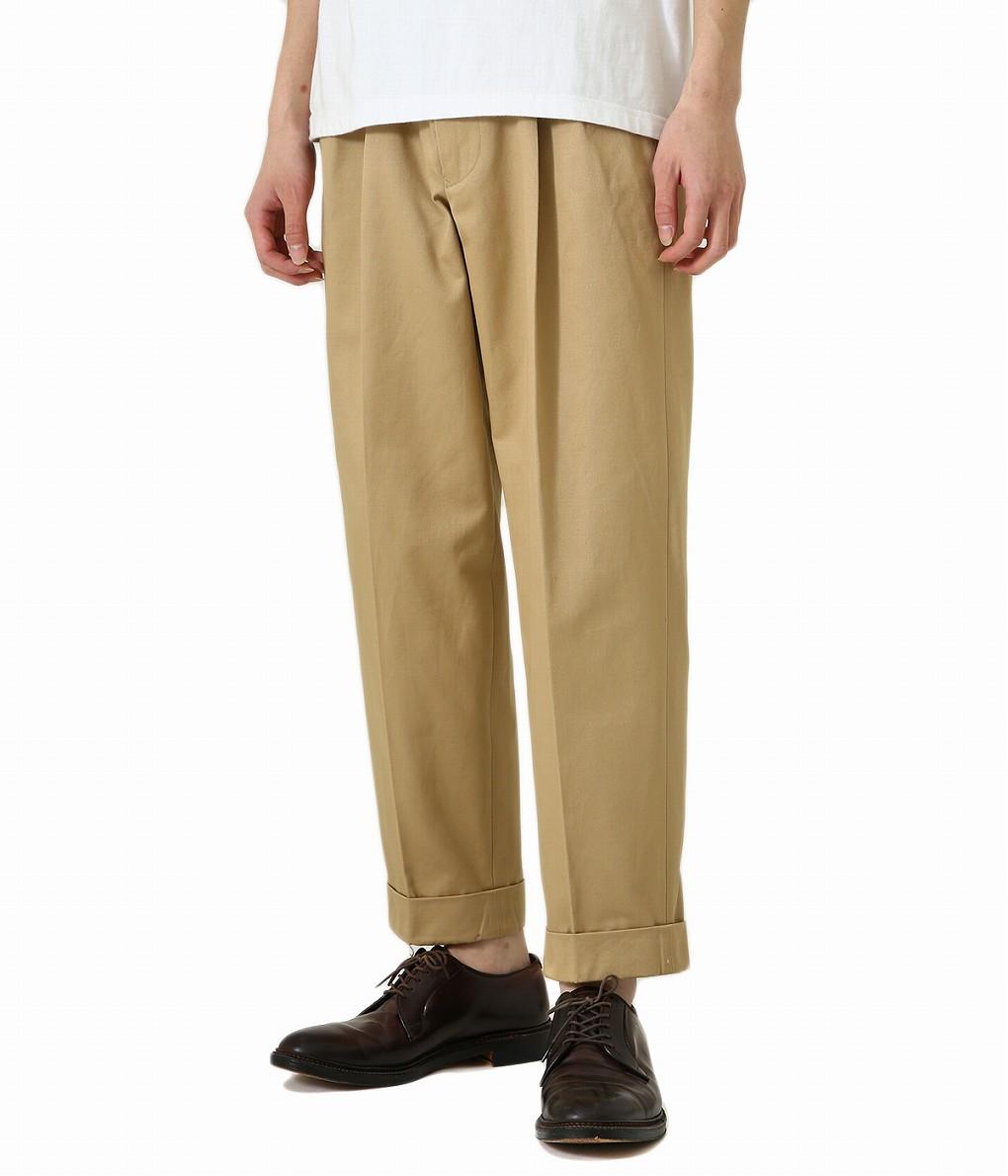 【楽ギフ_包装】 Scye/ サイ ベーシックス 財布 : San Joaquin 財布 Cotton Chino Scheme Pleated Trousers : サン ホアキン コットン チノ プレーテッド トラウザーズ メンズ : 5120-81516【MUS】:ARKnets, 草加市:504b04a5 --- nagari.or.id