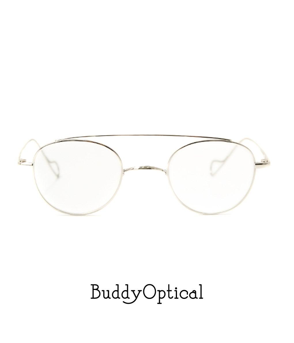 BuddyOptical / バディオプティカル : his -silver- : his メガネ 眼鏡 アイウェアー シルバー メンズ レディース : BO-his-silver 【COR】