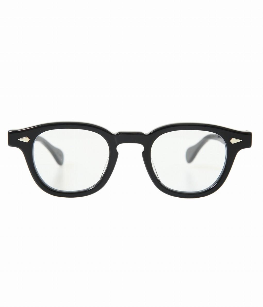 JULIUS TART OPTICAL / ジュリアスタートオプティカル : AR 42(size) 44(size) 46(size) - BLACK / CLEAR - : サングラス アクセサリー メガネ 眼鏡 : JTPL-009A-1A-2A【WIS】【COR】