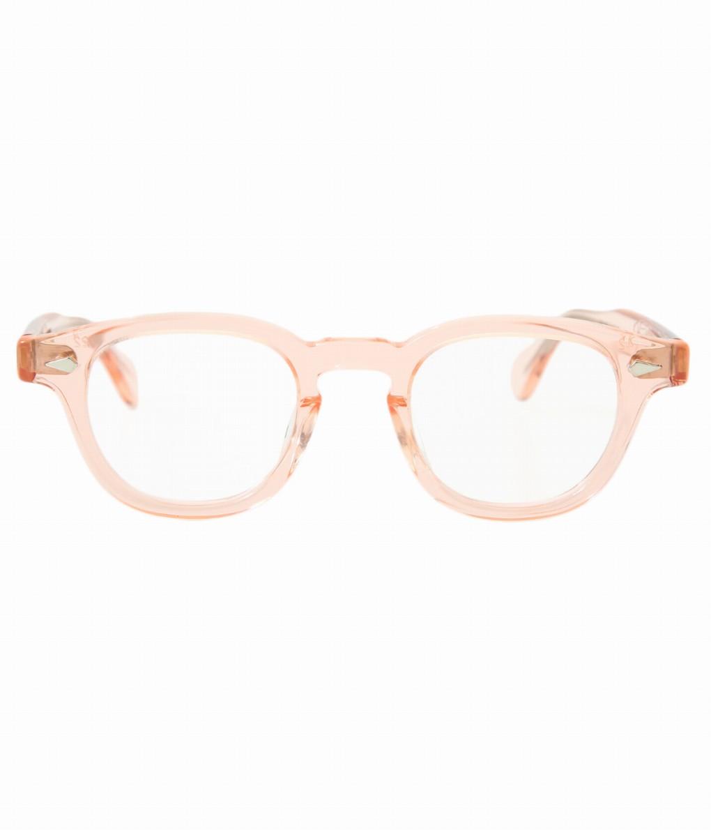 JULIUS TART OPTICAL / ジュリアスタートオプティカル : AR 42(size) 44(size) 46(size) - FRESH PINK / CLEAR - : サングラス アクセサリー メガネ 眼鏡 メンズ : JTPL-009H-1H【WIS】【COR】
