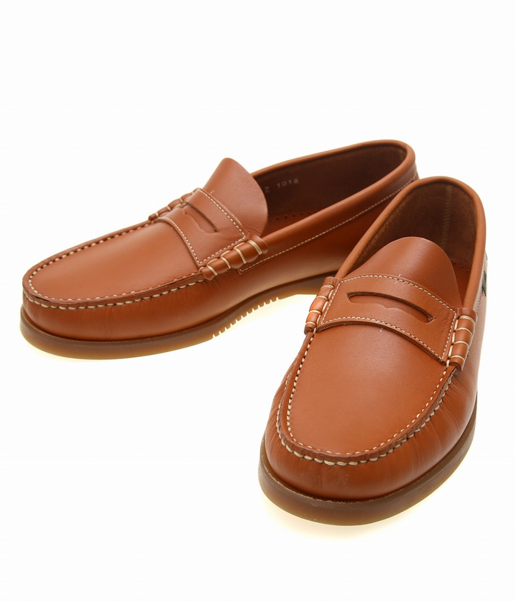 paraboot / パラブーツ : CORAUX / Cuir Lisse smooth -Whisky- : ドレス シューズ ローファー 靴 メンズ : 93622【MUS】
