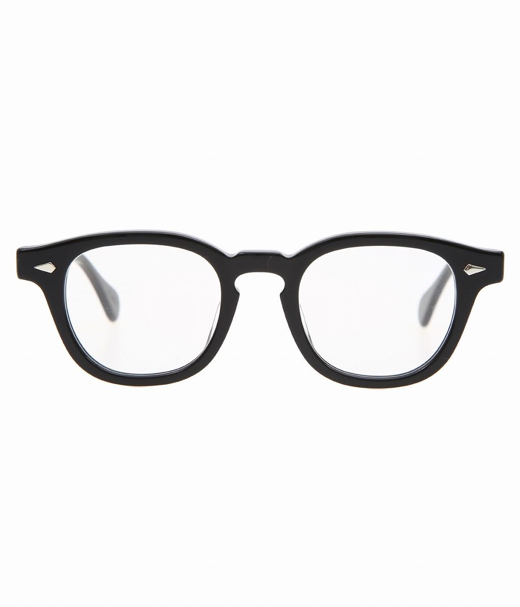 JULIUS TART OPTICAL / ジュリアスタートオプティカル : AR 46-22 - BLACK / CLEAR - : メガネ 眼鏡 アイウェア メンズ レディース : JTPL-002A 【COR】