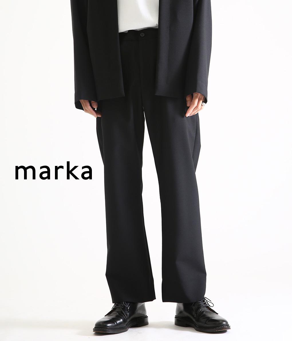 marka / マーカ : STRAIGHT FIT EASY - w.m tropical - / 全3色 : 【20SS】ストレートフィットイージー スラックス セットアップ スーツ イージーパンツ メンズ : M20A-05PT01C 【COR】